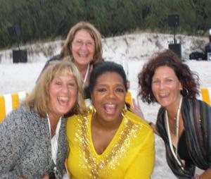 Oprah in Australia