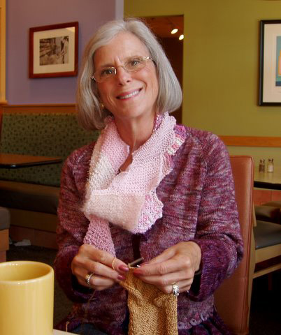 why i'm knitting for the cure by eileen adler - Midlife at the Oasis