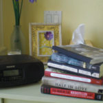 my reading list (and my anthropologie blanket and a few other things)