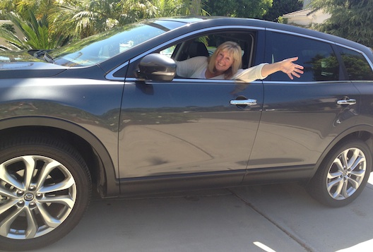 Lois Alter Mark test drives the Mazda CX-9
