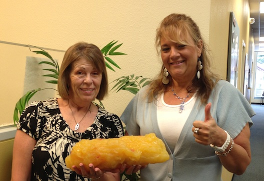 This is what 5 pounds of fat looks like