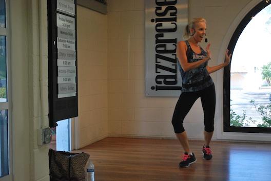Kristen Penk, Jazzercise instructor