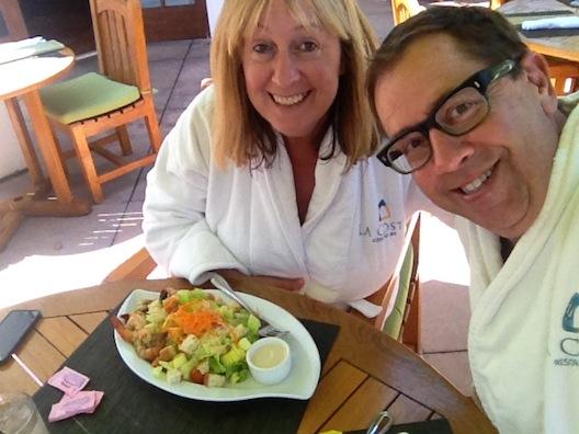 Lunch at La Costa