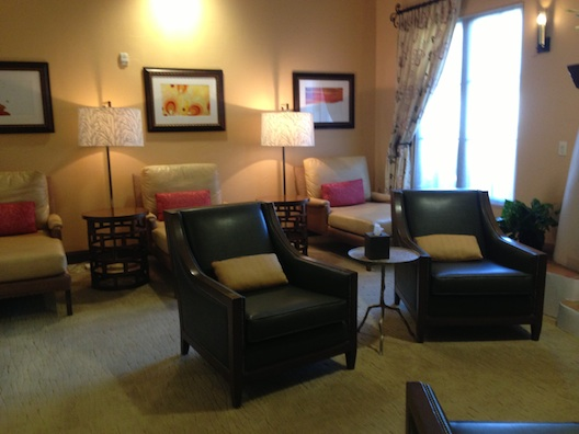 Relaxation room at La Costa
