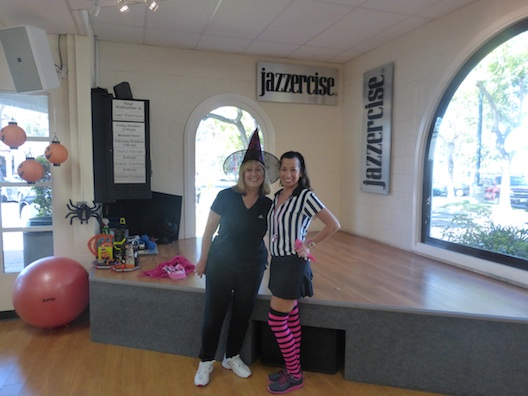 Halloween at Jazzercise