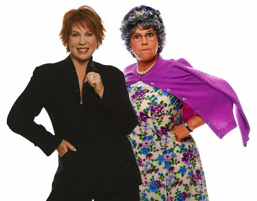 Vicki Lawrence and Mama