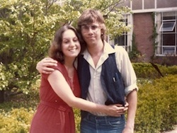 Lois and Michael in college