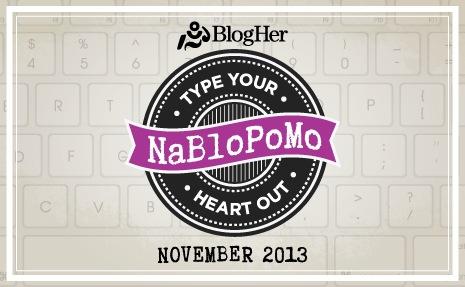 NaBloPoMo logo