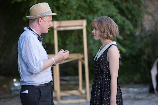 Rachel McAdams and Richard Curtis in About Time