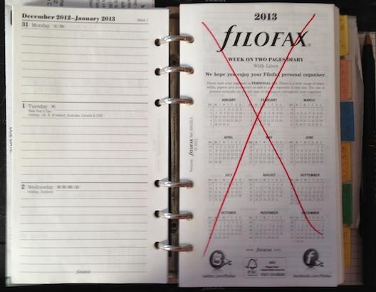 Filofax 2013