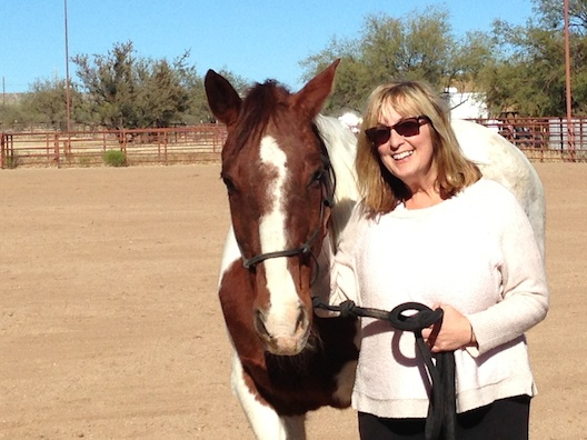 Miraval - Lois and horse