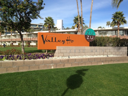 Hotel Valley Ho sign