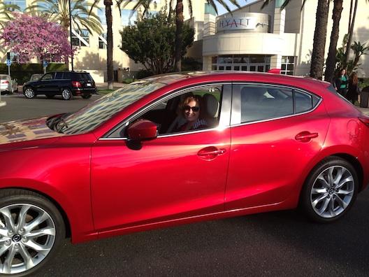 Mazda at Hyatt