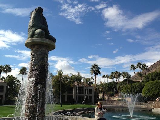 Phoenician fountain
