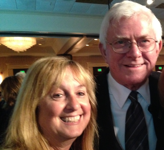 Phil Donahue and Lois