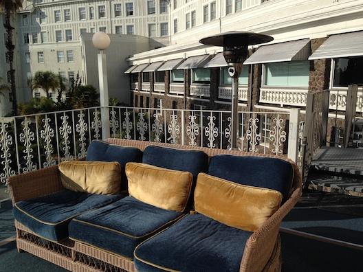Claremont Hotel seats