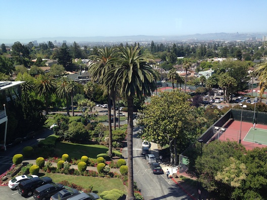 Claremont Hotel view