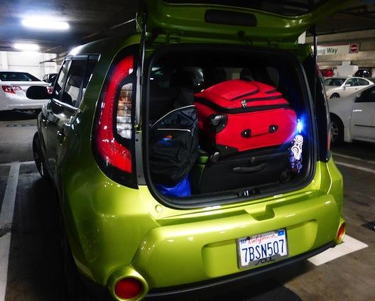 Kia Soul trunk