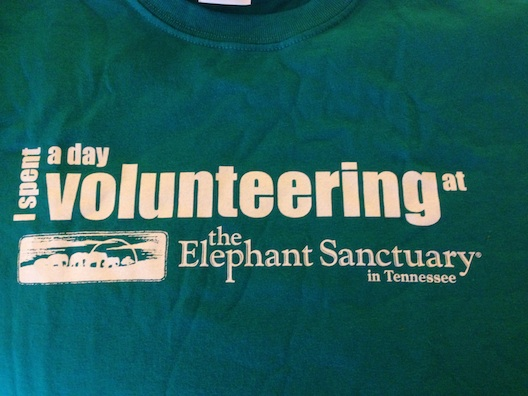 Elephant Sanctuary t-shirt