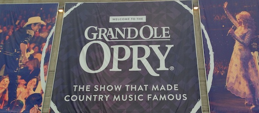 Grand Ole Opry sign