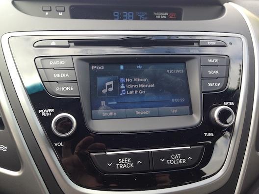 Hyundai Elantra iPod