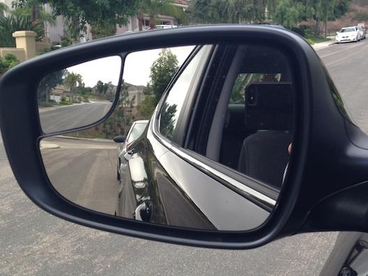 Hyundai Elantra mirror