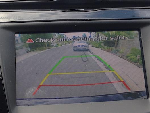 Hyundai Elantra rear camera
