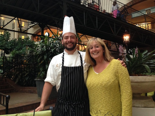 Opryland Chef Mike and Lois