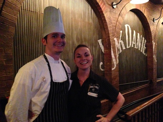 Opryland Chef Jared and Danielle