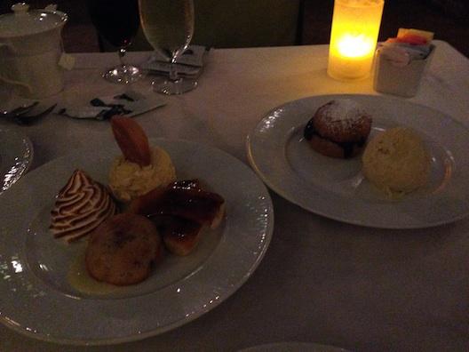 Opryland Ravello desserts