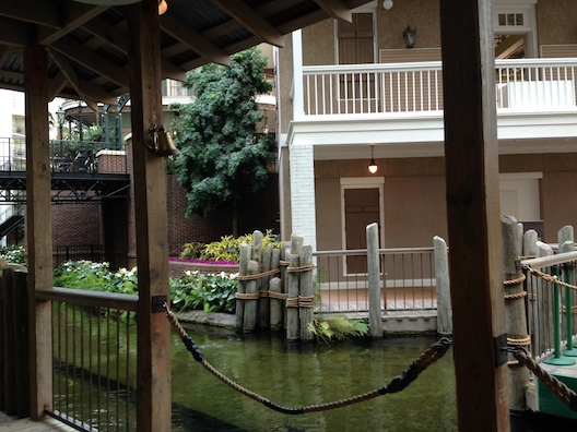Opryland boat launch area
