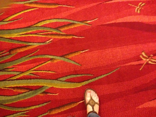 Opryland carpet