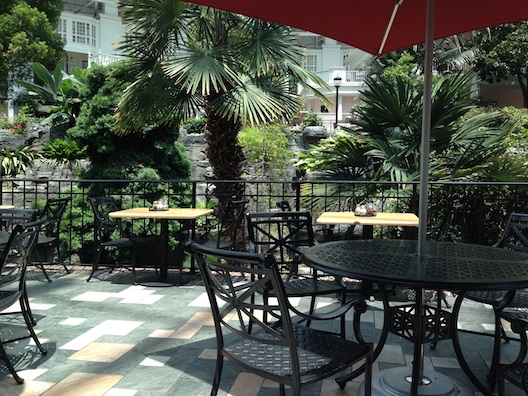 Opryland tables