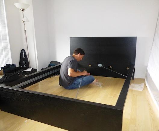 Alex IKEA bed