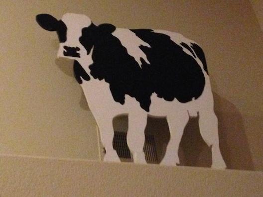 Ben & Jerry's cow