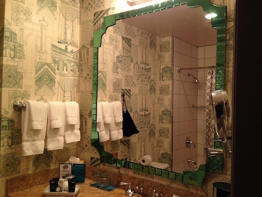 Hotel Monaco bathroom