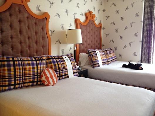 Hotel Monaco beds