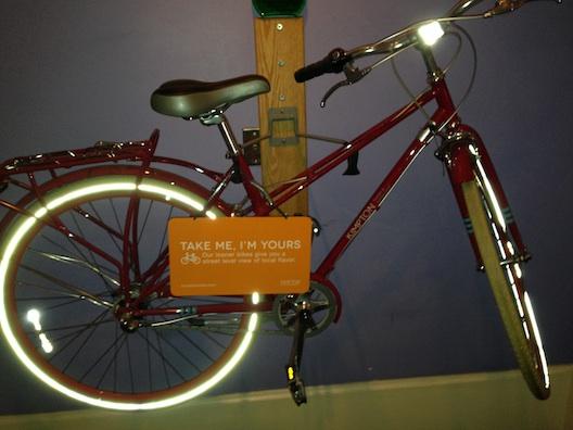 Hotel Monaco bike