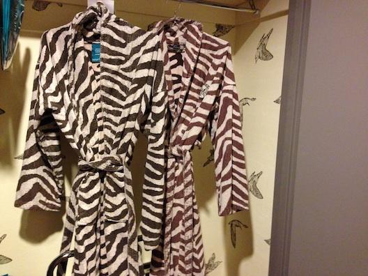 Hotel Monaco robes