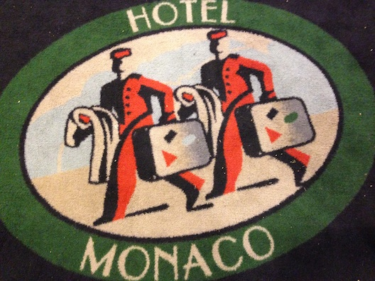 Hotel Monaco sign