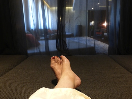 Hotel Palomar feet