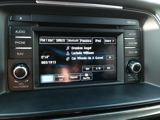 Mazda 6 audio