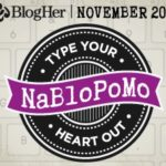 nablopomo starts tomorrow