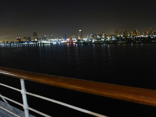 Queen Mary night view