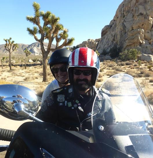 Desert Springs Peter and me bike