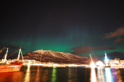 Hurtigruten Northern Lights water