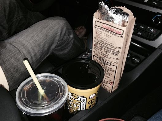 Hyundai Sonata cup holder