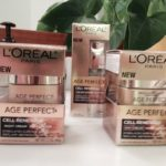 putting my best face forward with l'oreal age perfect cell renewal
