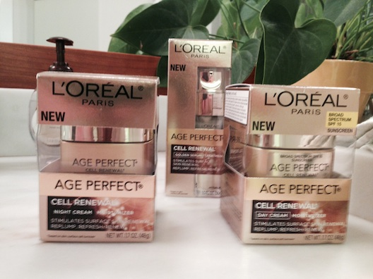 L'Oreal Age Perfect boxes