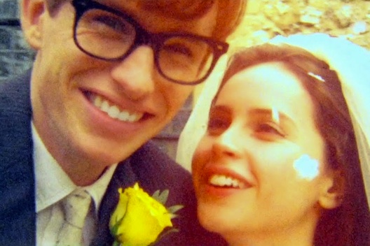 Theory of Everything wedding picture